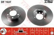Bmw 316 318 Compact E36 Front Brake Disc's 94-01 286mm solid