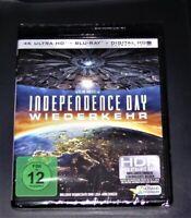 Independence Journée Retour 4K Ultra HD blu ray + Expédition Rapide Neuf