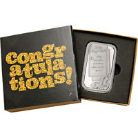 Wedding Invitation 1oz .999 Silver Bar Dated 2018