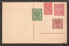 Austria H&G KZ145 mint 1919 Private Order Dbl. Card 1;0