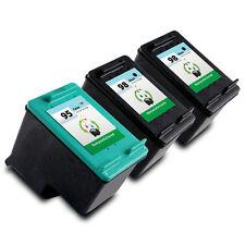 3pk Printronic For HP 95 and HP 98 Ink Cartridge C8766WN C9364WN