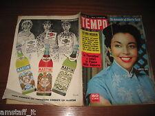 RIVISTA TEMPO 1956/1=JENNIFER JONES=FIORENTINA=MARIA KRISTLER=JOSEPHINE CHAPLIN