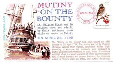 "COVERSCAPE computer designed 225th of the ""Mutiny on the Bounty"" event cover"