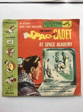 "1952 Official Tom Corbett Space Cadet At Space Academy 45 7"" Yellow Vinyl WY-449"