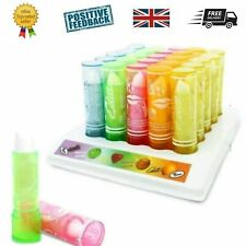 Set 5 Fruity scented lip balm gloss lipstick - Children's Girls Kids beauty gift