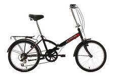 Faltrad 20'' Bike 2-Fach klappbar Classic Schwarz 6 Gänge 569B