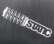 STATIC SPRING STANCE vinyl sticker funny car windscreen decal van window JDM DUB