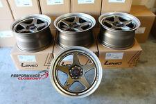 Lenso Project D Spec J Wheels 17x9 +35 5x100 & 5x114 Set of 4 Evo WRX FRS BRZ