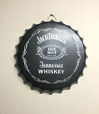 Jack Daniels JD Metal Wall Sign Retro Tin Steel Plaque Home Bar Man Cave