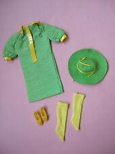 Difícil de encontrar Snap Dash 1968 #1824 Mod Muñeca Ropa Traje Conjunto de Colección Barbie