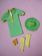 HTF Snap Dash 1968 #1824 Mod doll clothes outfit set Vintage Barbie