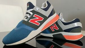 NEW BALANCE Retro NB 247 BLUE Sport Schuhe JOGGING Running Turnschuhe Gr. 38,5