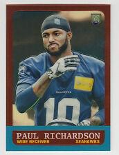 PAUL RICHARDSON 2014 Topps Chrome Football 1963 Topps Mini Card #23 Seahawks