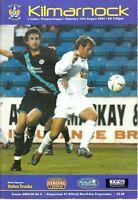 Scottish Premier League Kilmarnock V Celtic 14th August 2004