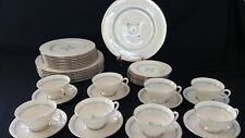 LENOX china CHARMAINE Holiday C512 pattern Service for 8 - Excellent