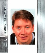 Ice Hockey NHL Legend Jari Kurri Edmonton Finland Official Stamp 2004 MNH RARE!