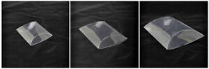 12 x Pack Clear Pillow Gift Boxes/ Wedding Favour/ Sweet Boxes