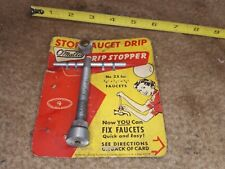 O'Malley Drip Stopper No. 2 Faucet Re-seater Spout Drip Repair Tool