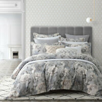 Private Collection Ashby Quilt Cover Set Dove