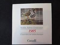 Canada - Migratory Bird Stamps - FWH1, FWH2, FWH3 MNH & souvenir sheet 1066b MNH
