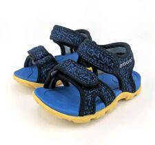 Bogs Infant Size 5 Blue Black Whitefish 80s Sport Strap Baby Boy Rebound Sandals
