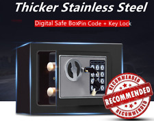 Digital Safe Box Electronic Lock Fireproof Security Home Office Money Steel VIP