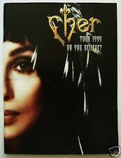 cher 1999 tour program Do You Believe Rare and HTF