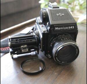 Mamiya 645 1000s + 80mm 2.8