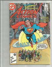 Action Comics 583 (1984) Classic Alan Moore! Gorgeous High Grade Copy!