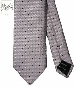 NEW! TOM FORD 100% SILK PINK LAVENDER CHECKED NECK TIE WITH POLKA DOTS TFN60