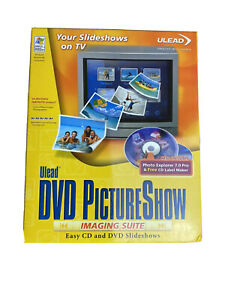 Ulead Photo Explorer, DVD Picture Show Easy CD