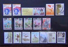 Netherlands 1984 Child Welfare Cultural Health Birds Bishop 1986 Utrecht etc MNH
