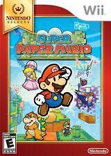 Super Paper Mario Nintendo Selects - Nintendo  Wii Game