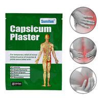 Patch de chaleur de patch de douleur de plâtre de 8pcs capsicum pour le soOP