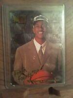 Stephon Marbury 1996-97 Fleer Metal Fresh Foundation #134 Rookie Basketball Card