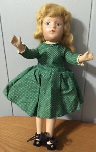 COMPOSITION Doll 11 INCHES TALL