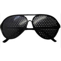 Nadelöhr Brille Raster Lochbrille Pinhole Glass Rasterbrille Augentrainer O6A2