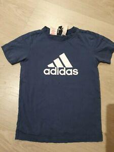 Boys Adidas/New Balance  T shirts Size 7 Years