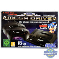 BOX PROTECTOR for Sega Mega Drive Mini Classic Console Strong 0.5mm DISPLAY CASE