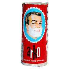 Arko Shaving Soap 2.64 Oz Stick Barbers Choice for Traditional Shave 6 Sticks