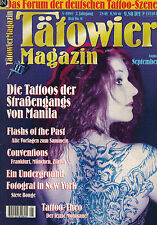 Tätowier Magazin 5/1995 August September,Steve Bonge,Tattoo Theo,Frankfurt,Züric