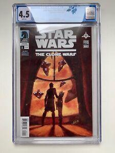 Star Wars The Clone Wars #1 CGC 4.5 - 1st Ahoska Tano (Dark Horse Comics, 2008)