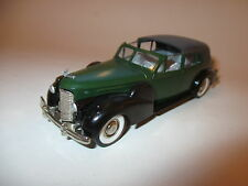 Cadillac v16 town car oscuro verde verde Green, Rex Toys en 1:43/13,5 cm long!