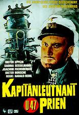 U-47 - KAPITANLEUTNANT PRIEN (1958) * with switchable English subtitles *