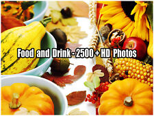 Royalty Free Stock {HD} Food and Drink Photos - 2500+Photos Collection DvD-Rom