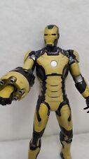 """15"""" Iron-man Electronic Talking Sonic Blasting Black & Gold Hasbro 2012 Marvel"""