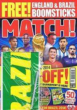 WORLD CUP / BRAZIL / ENGLANDMatch + BOOMSTICKJun102013 - 4