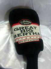 Callaway Great Big Bertha Titanium War Bird Soleplate Driver Head Cover