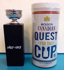 Molson Canadian 1893-1913 replica NHL stanley cup * MINI TROPHY with BOX hockey