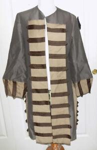 Vintage Antique Gray Brown Coat Flapper Era B40